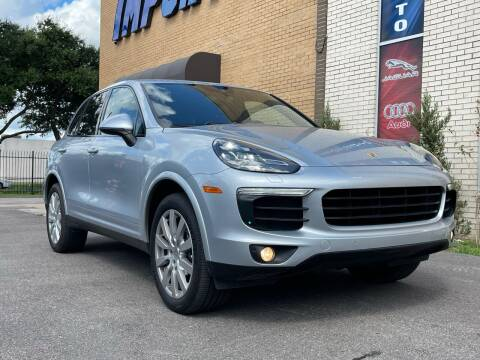 2017 Porsche Cayenne for sale at Auto Imports in Houston TX