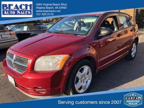 2008 Dodge Caliber for sale at Beach Auto Sales in Virginia Beach VA