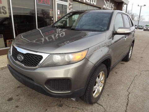 2011 Kia Sorento for sale at Arko Auto Sales in Eastlake OH
