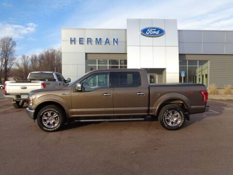 2015 Ford F-150 for sale at Herman Motors in Luverne MN