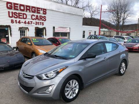 2015 Hyundai Elantra for sale at George's Used Cars Inc in Orbisonia PA