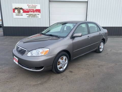 2005 Toyota Corolla for sale at Highway 9 Auto Sales - Visit us at usnine.com in Ponca NE