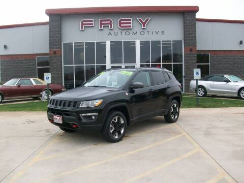 2018 Jeep Compass for sale at Frey Automotive in Muskego WI