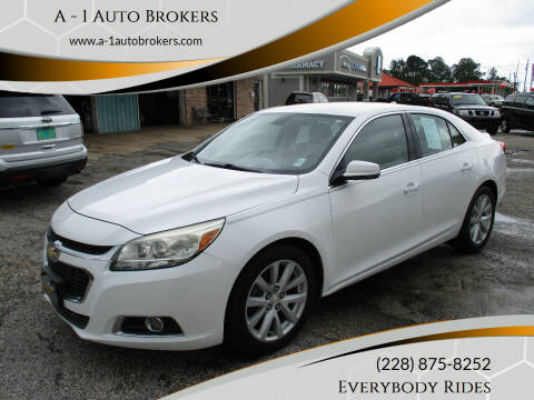 2014 Chevrolet Malibu for sale at A - 1 Auto Brokers in Ocean Springs MS
