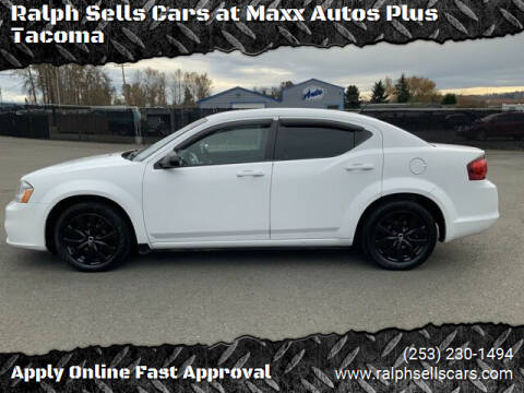 2013 Dodge Avenger for sale at Ralph Sells Cars at Maxx Autos Plus Tacoma in Tacoma WA