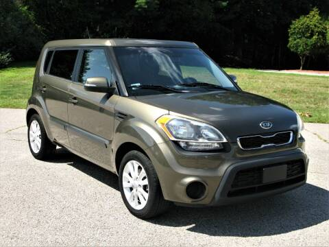 2012 Kia Soul for sale at The Car Vault in Holliston MA