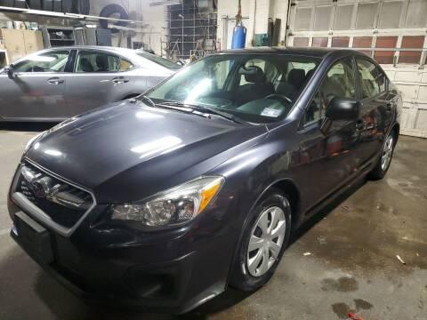 2014 Subaru Impreza for sale at PARK AUTO SALES in Roselle NJ