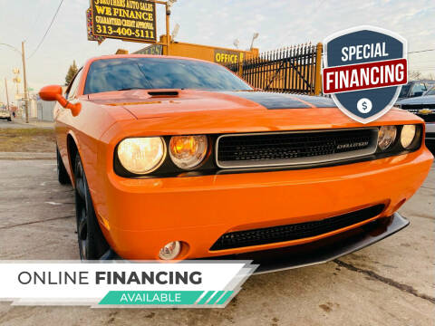 2014 Dodge Challenger for sale at 3 Brothers Auto Sales Inc in Detroit MI