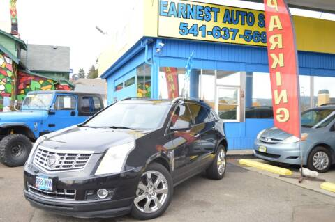 2013 Cadillac SRX for sale at Earnest Auto Sales in Roseburg OR