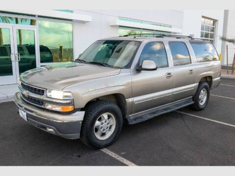 2002 Chevrolet Suburban for sale at REVEURO in Las Vegas NV