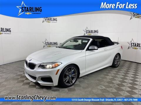 2015 BMW 2 Series for sale at Pedro @ Starling Chevrolet in Orlando FL