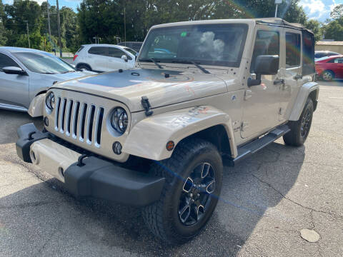 2016 Jeep Wrangler Unlimited for sale at Capital City Imports in Tallahassee FL