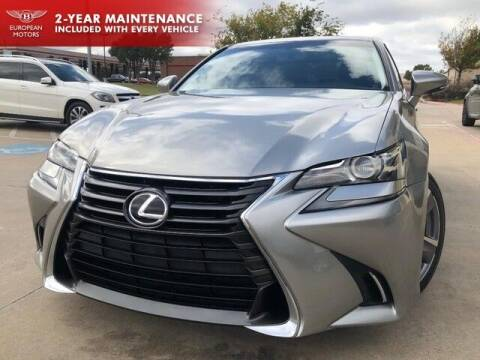 2016 Lexus GS 200t for sale at European Motors Inc in Plano TX