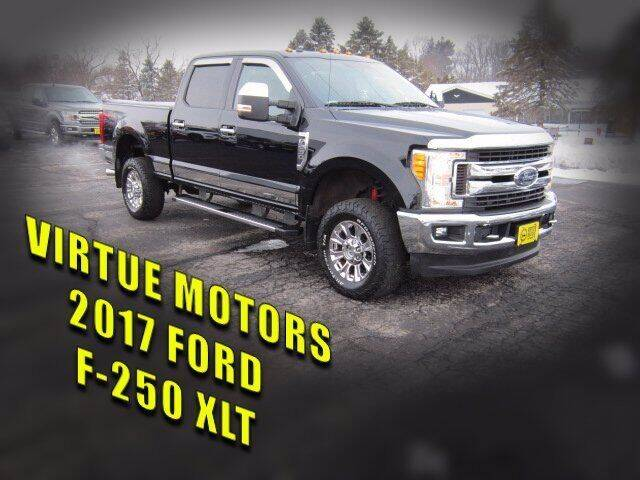 2017 Ford F-250 Super Duty for sale at Virtue Motors Used in Darlington WI