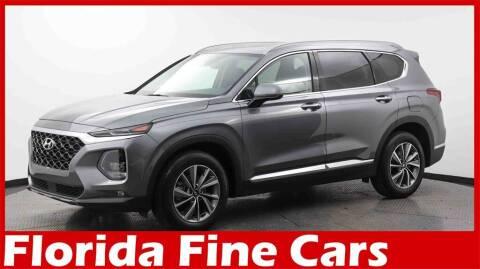 2019 Hyundai Santa Fe for sale at Florida Fine Cars - West Palm Beach in West Palm Beach FL