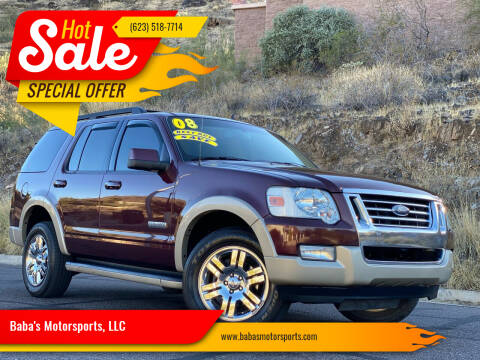 2008 Ford Explorer for sale at Baba's Motorsports, LLC in Phoenix AZ