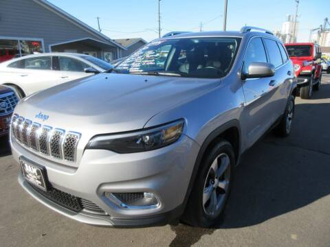 2020 Jeep Cherokee for sale at Dam Auto Sales in Sioux City IA