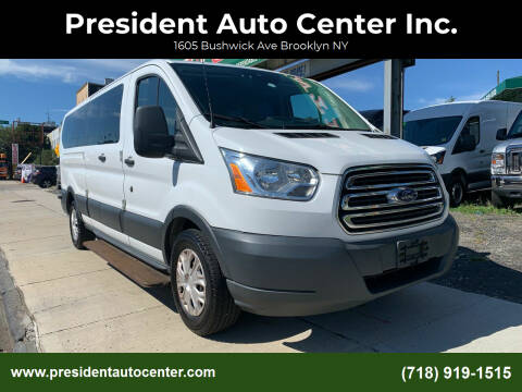 2015 Ford Transit Passenger for sale at President Auto Center Inc. in Brooklyn NY