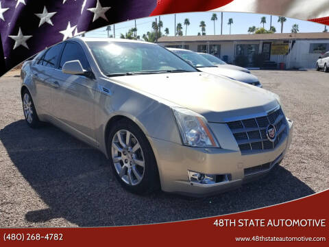 2009 Cadillac CTS for sale at 48TH STATE AUTOMOTIVE in Mesa AZ