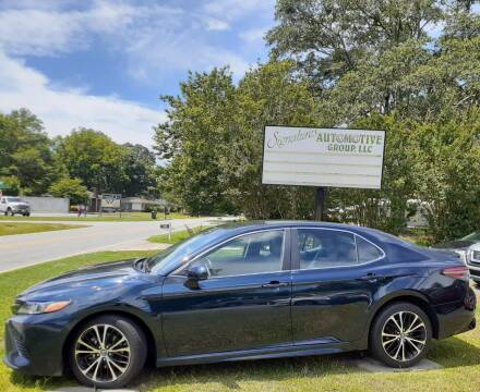 2018 Toyota Camry for sale at SIGNATURES AUTOMOTIVE GROUP LLC in Spartanburg SC