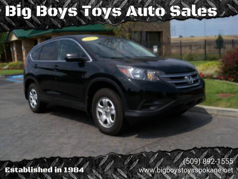 2012 Honda CR-V for sale at Big Boys Toys Auto Sales in Spokane Valley WA