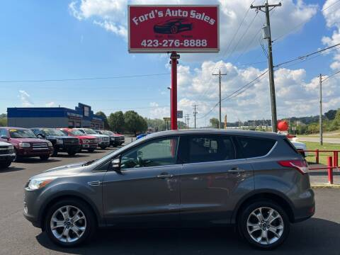 2013 Ford Escape for sale at Ford's Auto Sales in Kingsport TN