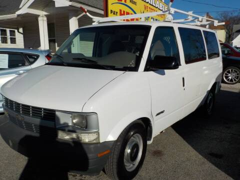 1999 Chevrolet Astro Cargo for sale at SEBASTIAN AUTO SALES INC. in Terre Haute IN