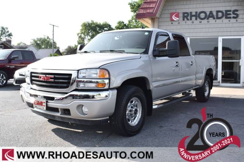 2006 GMC Sierra 1500HD for sale at Rhoades Automotive Inc. in Columbia City IN