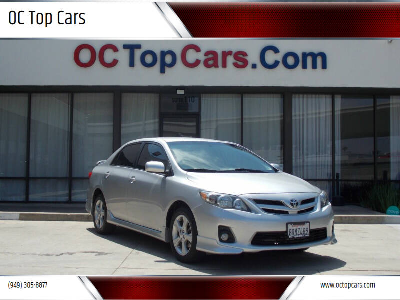 2011 Toyota Corolla for sale at OC Top Cars in Irvine CA
