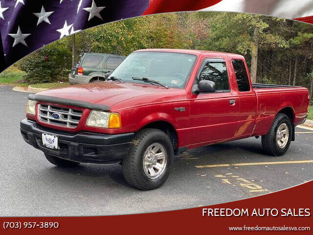 2003 Ford Ranger for sale at Freedom Auto Sales in Chantilly VA