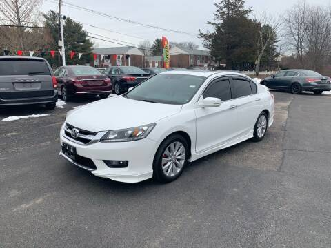 2014 Honda Accord for sale at Lux Car Sales in South Easton MA
