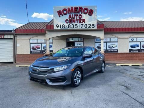 2017 Honda Civic for sale at Romeros Auto Center in Tulsa OK