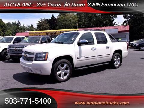 2011 Chevrolet Avalanche for sale at Auto Lane in Portland OR