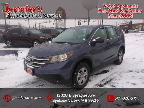 2014 Honda CR-V for sale at Jennifer's Auto Sales in Spokane Valley WA