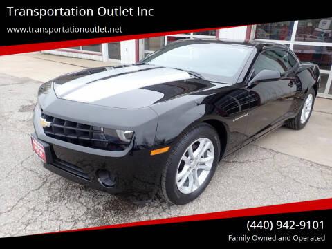2013 Chevrolet Camaro for sale at Transportation Outlet Inc in Eastlake OH