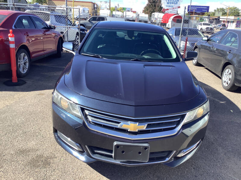 2014 Chevrolet Impala for sale at GPS Motors in Denver CO
