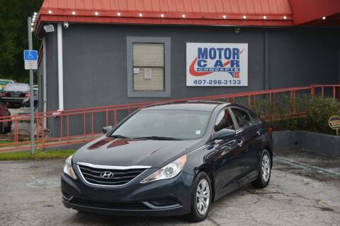 2012 Hyundai Sonata for sale at Motor Car Concepts II - Kirkman Location in Orlando FL