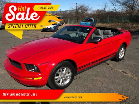 2007 Ford Mustang for sale at New England Motor Cars in Springfield MA