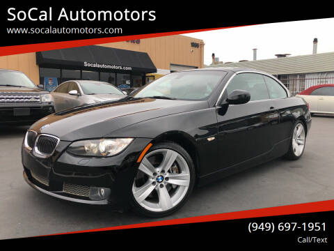 2010 BMW 3 Series for sale at SoCal Automotors in Costa Mesa CA