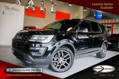 2016 Ford Explorer for sale at Quality Auto Center in Springfield NJ
