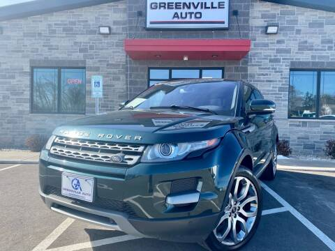 2013 Land Rover Range Rover Evoque for sale at GREENVILLE AUTO in Greenville WI