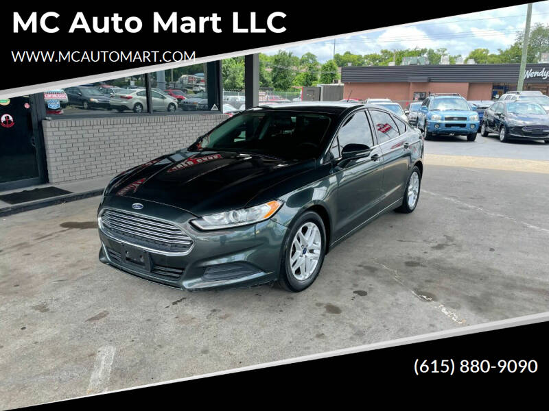2015 Ford Fusion for sale at MC Auto Mart LLC in Hermitage TN