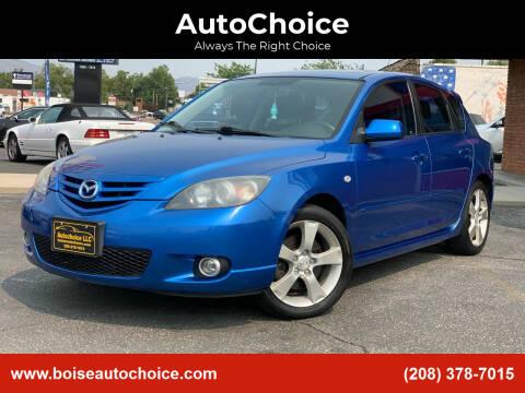 2006 Mazda MAZDA3 for sale at AutoChoice in Boise ID