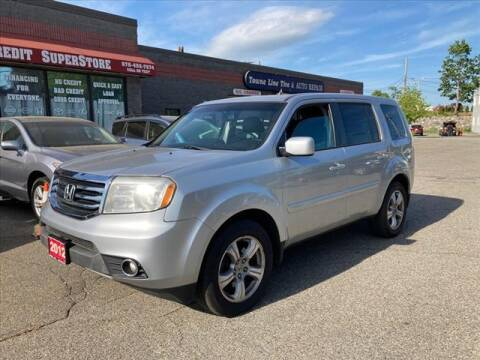 2012 Honda Pilot for sale at AutoCredit SuperStore in Lowell MA