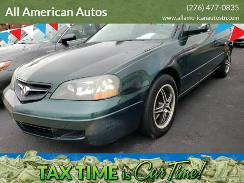 2003 Acura CL for sale at All American Autos in Kingsport TN