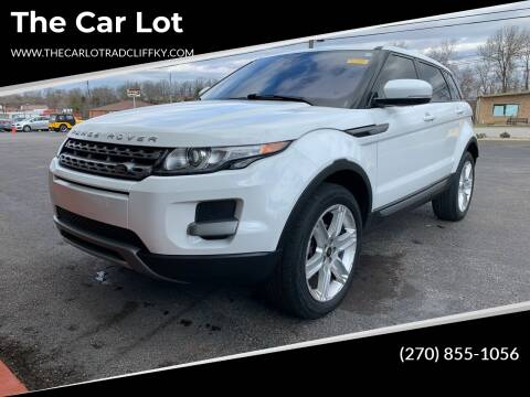 2013 Land Rover Range Rover Evoque for sale at The Car Lot in Radcliff KY