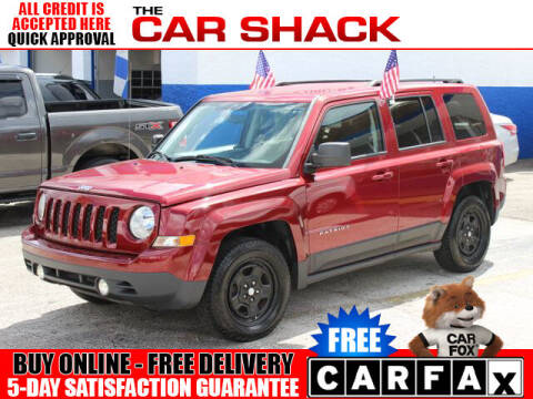 2014 Jeep Patriot for sale at The Car Shack in Hialeah FL