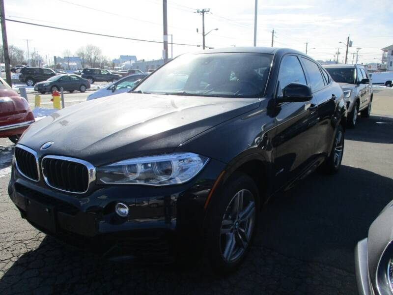 2015 BMW X6 for sale at AUTO FACTORY INC in East Providence RI