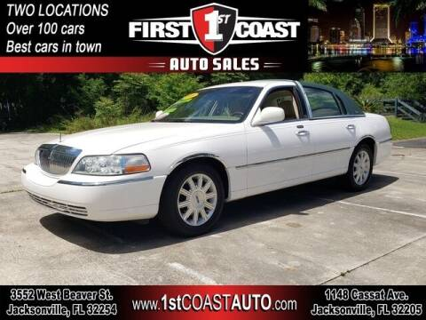 2008 Lincoln Town Car for sale at 1st Coast Auto -Cassat Avenue in Jacksonville FL