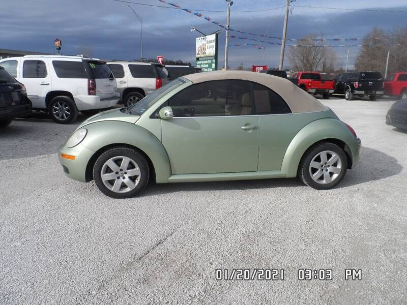 2007 Volkswagen New Beetle Convertible for sale at Town and Country Motors in Warsaw MO